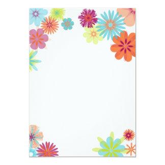 Brilliant Flowers Card