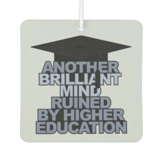 BRILLIANT mind custom name & year air freshner