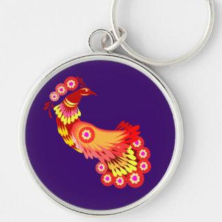 Brilliant Peacock Key Chain