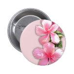 Brilliant Pink Hawaiian Hibiscus Flowers