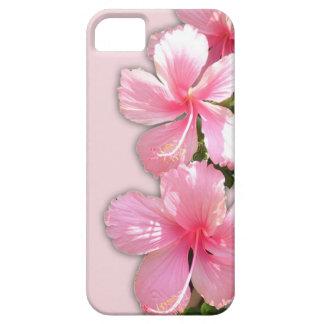 Brilliant Pink Hawaiian Hibiscus Flowers iPhone 5 Cases