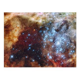 Brilliant Rainbow Nebula 30 Doradus Postcard
