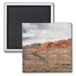 Brilliant Red Rocks; 2012 Calendar Fridge Magnet
