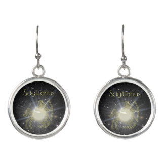 Brilliant Sagittarius Earrings