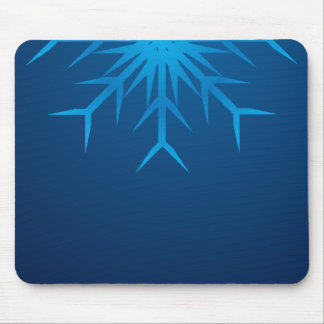 brilliant snowflake mouse mat
