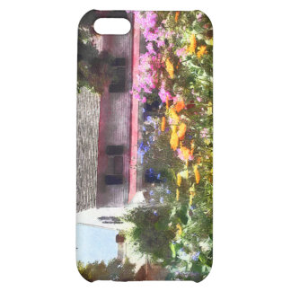 Brilliant Summer Garden Cover For iPhone 5C