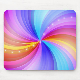 Brilliant Swirls of Color Mousepad
