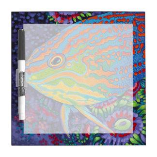 Brilliant Tropical Fish I Dry Erase Board