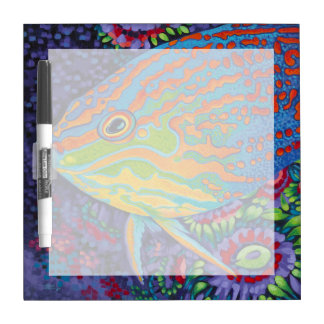 Brilliant Tropical Fish I Dry-Erase Whiteboard