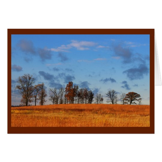 Brilliantly Coloured Scenery Thinking Of You Card
