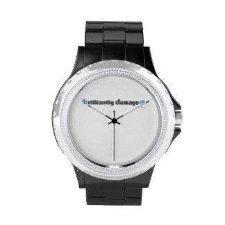 Brilliantly Damaged Wristwatch