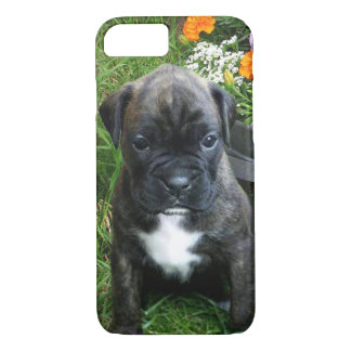 Brindle boxer puppy iphone 7 case