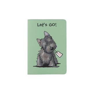Brindle Cairn Terrier Passport Holder