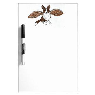 Brindle Cardi Angel Dry-Erase Board