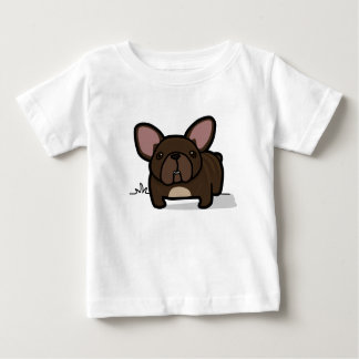 Brindle Frenchie Baby T-Shirt
