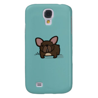 Brindle Frenchie Galaxy S4 Case