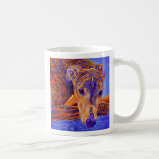 "Brindle Greyhound Mug - ""Ace"""