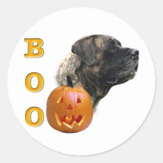 Brindle Mastiff Boo Sticker