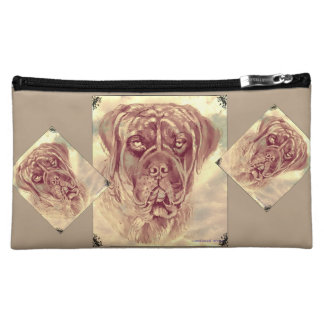 Brindle Mastiff makeup bag