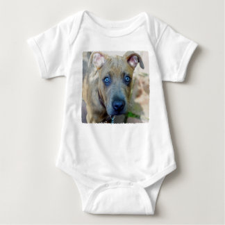 Brindle Pit Bull Puppy by Shirley Taylor T Shirt