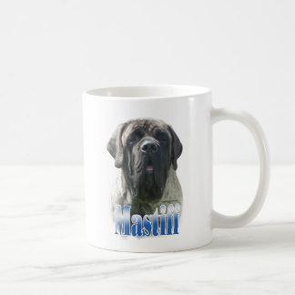 BrindleNamebluemetal Basic White Mug