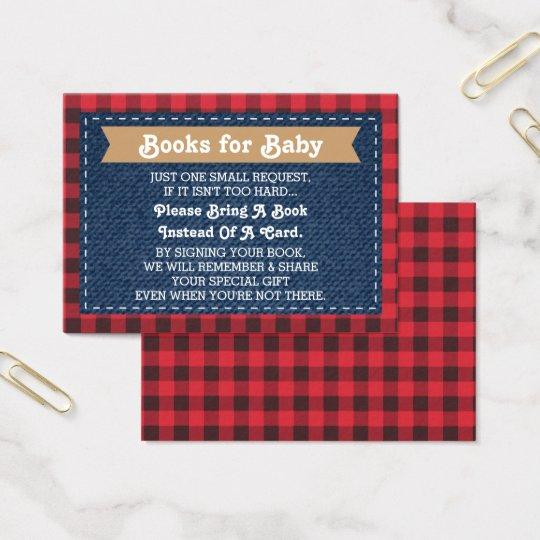 Bring A Book Card, Little Man, Lumberjack Business