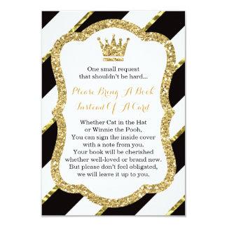 Bring A Book Card, Little Prince, Baby Shower 9 Cm X 13 Cm Invitation Card