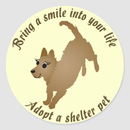 Bring a Smile Round Stickers