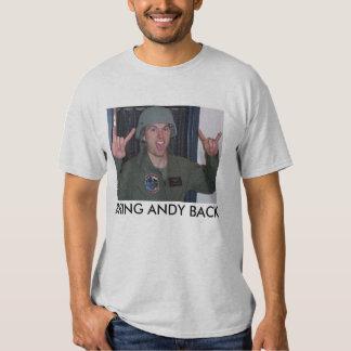 BRING ANDY BACK TSHIRTS