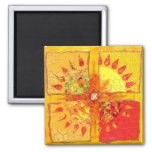 Bring Back The Sun Square Magnet