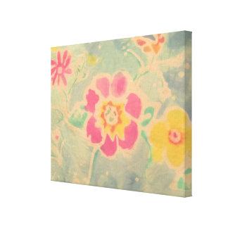 Bring Batik Stretched Canvas Print