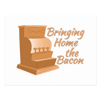 Bring Home Bacon Postcard