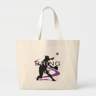Bring it D Jumbo Tote Bag