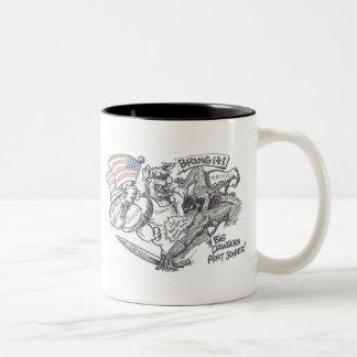 """Bring It"" Design by Richard Gibbs Coffee Mug"