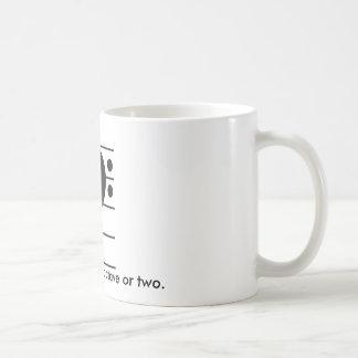 Bring it Down an Octave Coffee Mug