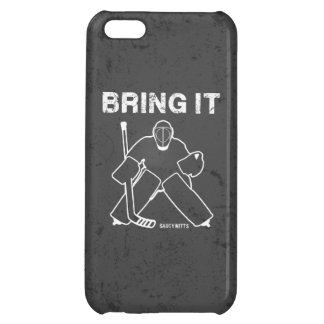 Bring It Hockey Goalie Cover For iPhone 5C