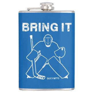 Bring It Hockey Goalie Hip Flask