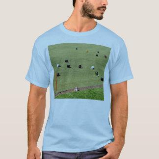 Bring_It,_Lawn_Bowls,_Mens_Blue_T-shirt. T-Shirt