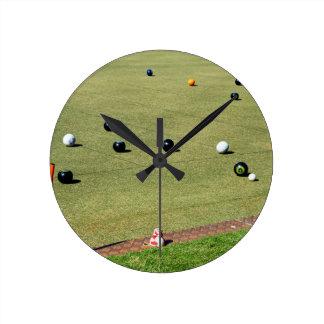 Bring_It,_Lawn_Bowls,_ Round Clock