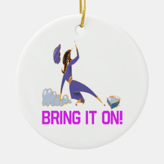 Bring It On Christmas Ornament