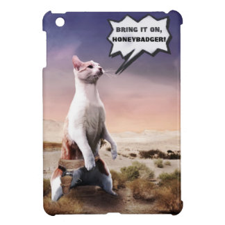 Bring it On Honey Badger Funny Cat iPad Mini Case