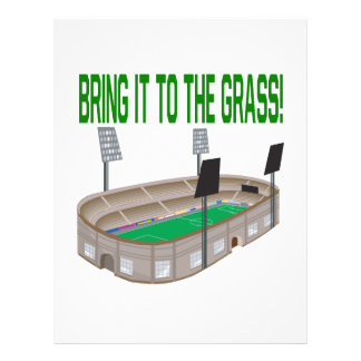 Bring It To The Grass Custom Flyer