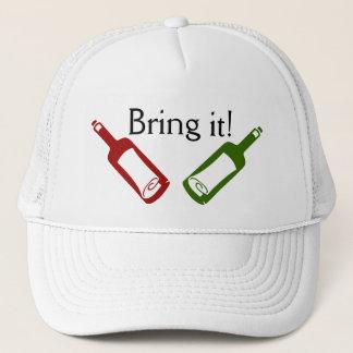 Bring it! Wine Bottles Hat
