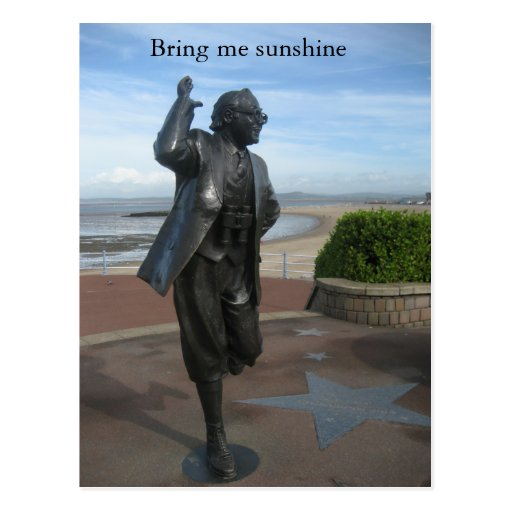 Bring me sunshine post card