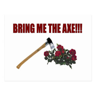 Bring Me The Axe!!! Postcard