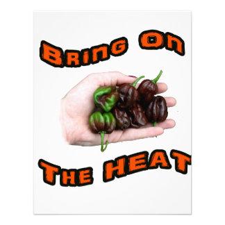 Bring On Heat Chocolate Hot Habanero Pepper Invite