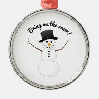 Bring On Snow Christmas Tree Ornaments