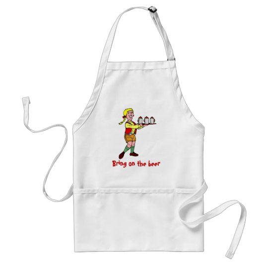 Bring on the beer standard apron