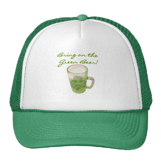 Bring on the Green Beer Tshirts and Gifts Mesh Hats