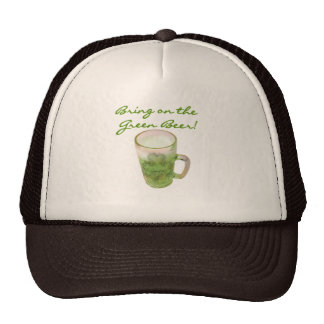 Bring on the Green Beer Tshirts and Gifts Hats